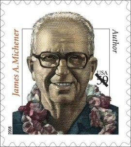james-michener-2008-stamp