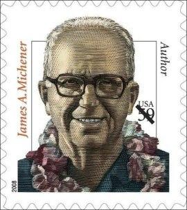 james-michener-2008-stamp